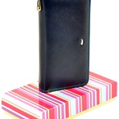 Женский кожаный кошелек клатч на молнии Dr.Bond В наличии разные модели