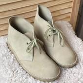 Ботинки Clarks 38р(5,5р)- 25см