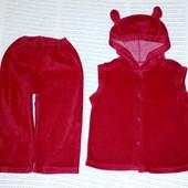 Велюровый костюмчик. 12-18 мес.80-86 см