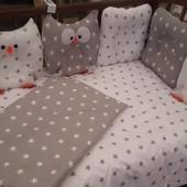 Детское постельное белье  с подушками
