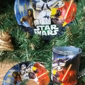 """Детский набор посуды """"Звездные войны"""""""