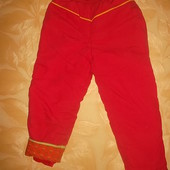 Зимние теплые штаны Длина=79 см.