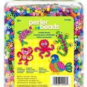 Perler Термомозаика Перлер 22 000 бусинок ярких цветов beads bead jar multi-mix colors