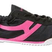 Кроссовки черно-розовые, остаток от СП