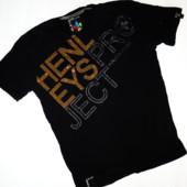 Мужская футболка Deluxe р.L стрейч коттон стразы