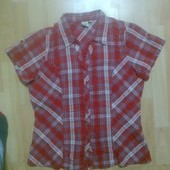 Фирменная рубашка блузка L