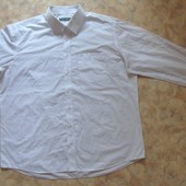 Мужская белая рубашка 54-56 с дл рук