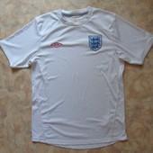 Белая спортивная футболка 48 муж