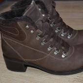 ARA 39р  туфли ботильоны кожаные ,ботинки. зимние