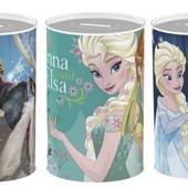 Металлические копилки  Frozen, Холодное сердце Disney. Высота 10 см.
