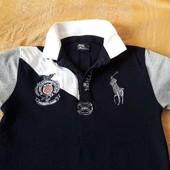 Тениска фирменная Polo Ralph Lauren р.46 S