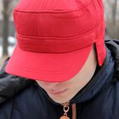 Стильная кепка на флисе