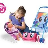 Игровой набор коляска My Little Pony поэзия дружбы - 3 шт.
