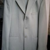 Классический тёплый мужской костюм. В составе шерсть. Р.46-48, но см.замеры.