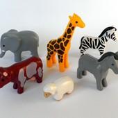 Конструктор Playmobil фигурки животные зоопарк плеймобиль