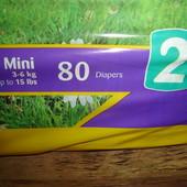 Турецкие Подгузники памперсы Kidy 2 (3-6 кг)80 шт