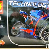 Конструктор Lele Technology Спортбайк 38020 (Аналог lego technic 42036) 375 дет.