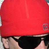 Фирменная стильная шапочка шапка флисовая бренд Quicksilver л-хл .56-58