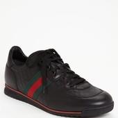 Шикарные мужские сникерсы туфли кроссовки от  Gucci,  p. 10, оригинал.