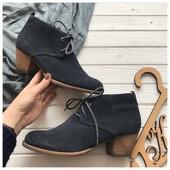 Замшевые ботинки M&S рр 40