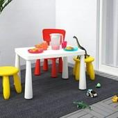 Столик дитячий Ikea mammut. маммут