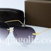 Солнцезащитные очки  YSL СС серые