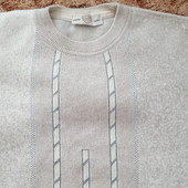 Мужской свитер, шерсть M, L