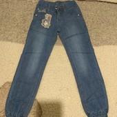 Джинсовые штаны детские весна-лето,качество хорошее,размеры 20-30.