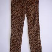 Фирменные Next леопардовые джинсы узкачи девочке 8 лет идеал