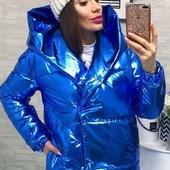 Теплая зимняя женская куртка