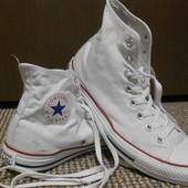 Кеды Converse высокие. Размер 41 (по стельке 27 см)