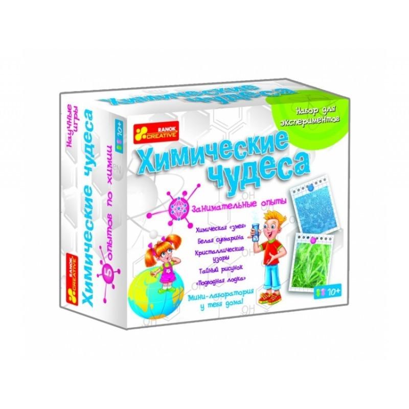 Опыты для детей химические чудеса, свет и цвет, магнетизм, разноцветные кристаллы, фантастически пуз фото №1