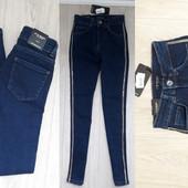Модные джинсы размер 25  Турция высокая посадка