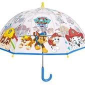 Perletti. Зонтик Щенячий патруль, прозрачный, детский зонт