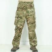 Камуфляжные брюки windproof армии Великобритании в расцветке MTP. Оригинал.