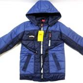 Детские весенне-осенние куртки для мальчиков 2-6 лет, опт и розница
