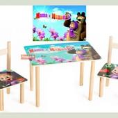 Набор стол и 2 стульчика  1400018