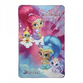 Детский плед покрывало Shimmer and Shine