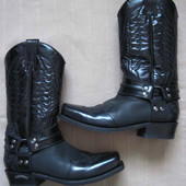 Sendra 4980 (43) кожаные байкерские сапоги мужские