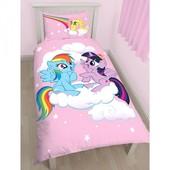 Детское постельное белье Пони Эквестрия полуторный комплект для девочки