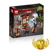 Конструктор 06056 Lepin «Уроки мастерства спинджитсу (Серия Ninjasaga )» аналог 70606 Lego.