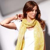 шарфик, легкий, желтый, Германия, Tcm, tchibo