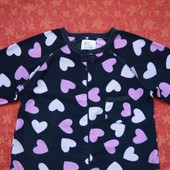 размер 6-8 (XS), Флисовый женский человечек-пижама Love to Lounge, б/у.