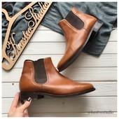 Кожаные ботинки John Brocklehurst р-р 42