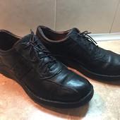 Туфли Clarks кожа размер 46 по стельке 31, 5см, отл. сост.