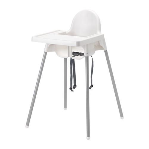 Кресло для кормления ікеа антилоп antilop 290.672.93 со столешней фото №1
