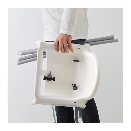 Кресло для кормления ікеа антилоп antilop 290.672.93 со столешней фото №2