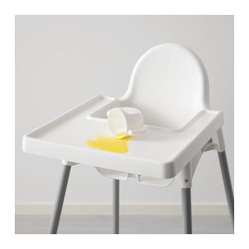 Кресло для кормления ікеа антилоп antilop 290.672.93 со столешней фото №5