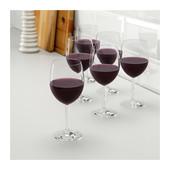 Келих для червоного вина, прозоре скло, набір ІКЕА свалка 300.151.23 бокал для красного вина