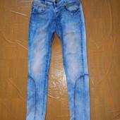XS-S, поб 44-46 узкачи! джинсы с потертостями скинни стрейч R.Display